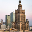Palace of Culture and Science in Warsaw Poland — Stock Photo #58658805