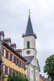 View of the French Reformed Church in Friedrichsdorf — Stock Photo