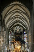 Detail view of St Stephans Cathedral in Vienna — Stock Photo