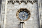 Clock at St Stephans Cathedral in Vienna — Stock Photo