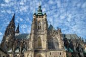 St Vitus Cathedral in Prague — Stock Photo