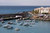 San Juan harbour in Tenerife — Stock Photo
