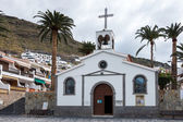 Church of the Holy Sprit in Los Gigantes Tenerife — Stock Photo