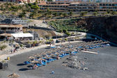 View of the beach at Callao Salveje Tenerife — Foto Stock