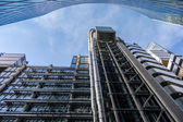 View of the Lloyds of London Building — Stock Photo