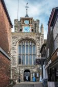 The Parish Church of St Mary the Virgin in Rye East Sussex — Stock Photo