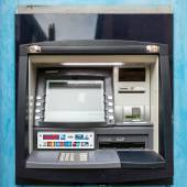 Cash machine in Rye East Sussex — Stock Photo