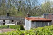 Ironworker's Terrace Houses at St Fagans National History Museum — Stock Photo