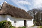 Nantwallter cottage at St Fagans National History Museum in Card — Stock Photo