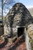Circular Pigsty at St Fagans National History Museum in Cardiff  — Stock Photo