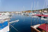 Boats in the Marina at Palau in Sardinia on May 17,2015 — Stock Photo
