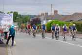 Cyclists participating in the Velethon Cycling Event in Cardiff — Stock Photo