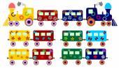 Children's train — ストックベクタ