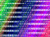 Rainbow dotted background — Foto Stock