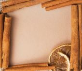 Old paper for recipes and spices — Stock Photo
