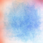 Blue background, pink at the edges — 图库照片