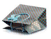 Beatiful shopping bag — Stockfoto