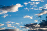 Sky with stormy clouds — Stock Photo