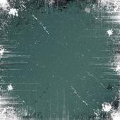 Grunge green background — Stock Photo