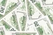 ドル手形の背景 — ストック写真