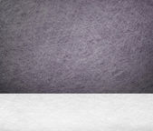 White concrete wall and floor — Stock Photo
