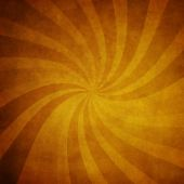 Vintage swirl rays background — Stock Photo