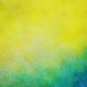 Yellow blue and green background — Stock Photo