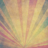 Vintage Sunbeams Background — Stock Photo