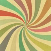 Vintage swirl stralen achtergrond — Stockfoto