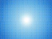Fundo azul pontilhado — Foto Stock
