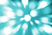 Priorità bassa blu con bokeh indicatori luminosi defocused — Foto Stock
