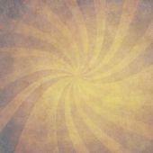 Vintage swirl rays background — Stock Photo