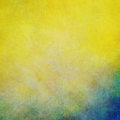 Žluté modré pozadí — Stock fotografie