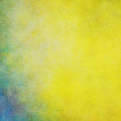 żółty z niebieskim tle — Zdjęcie stockowe