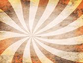 Orange background with lines — Stock Photo