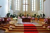 Casamento na igreja — Foto Stock