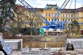 Construction d'un pont — Photo