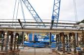 Building a bridge — Stock Photo