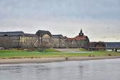 Dresden landmarks — Stock Photo