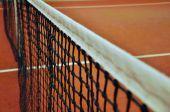 Red del tenis — Foto de Stock
