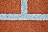 Tenis Kortu hattı — Stok fotoğraf