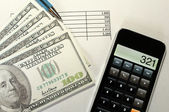 Paying bills — Stock Photo