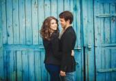 Romantic young couple  — Stock Photo