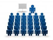 Business course, congress meeting concept — Stock Photo