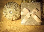 Elegant Holiday Gift — Stock Photo