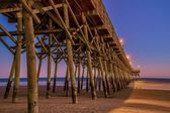 Atlantic Ocean Pier — Stock Photo
