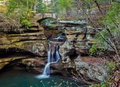 Enchanted Waterfall — Stock Photo