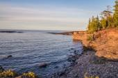 Lake Superior Coast — Stock Photo