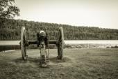 Antique Cannon — Stock Photo