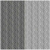 Set of abstract seamless black and white patterns of wavy lines. Vector eps 10. — Stock Vector